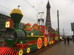 Illuminated Blackpool Tram