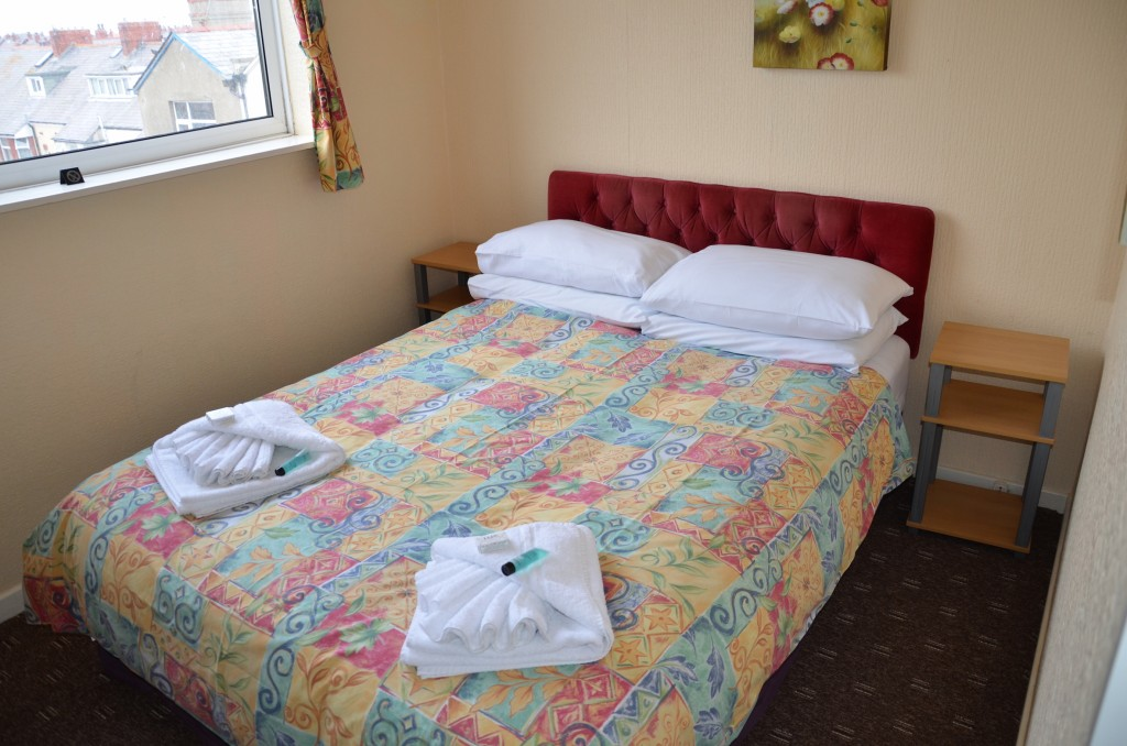 Double room in Blackpool
