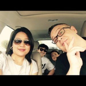 Filipino wife and kids